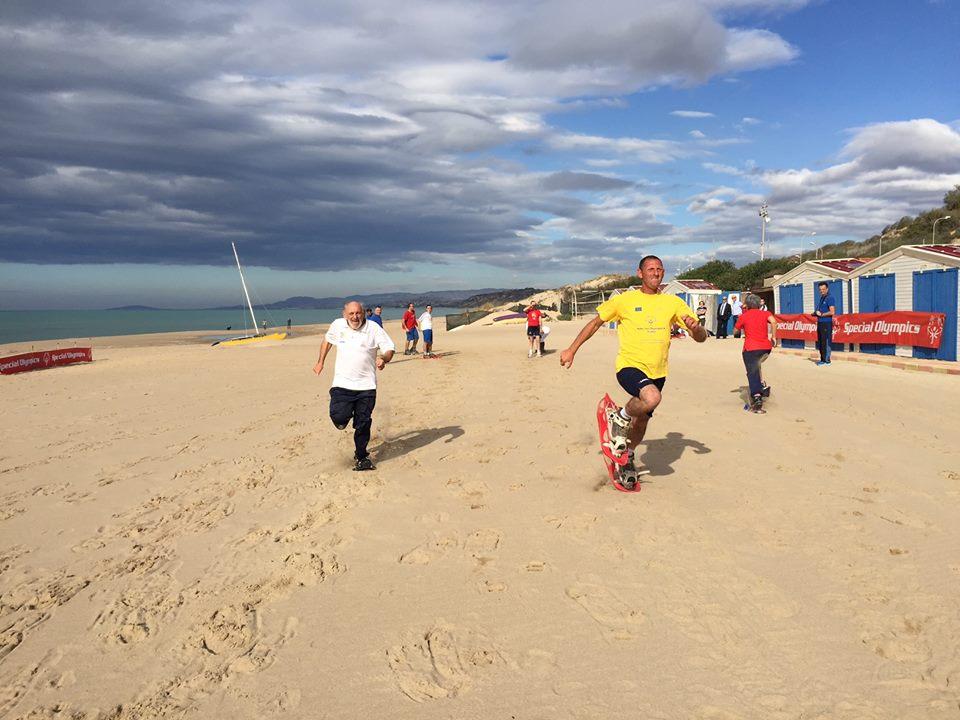 Il Raduno Pre Mondiali Invernali…Sulla spiaggia!