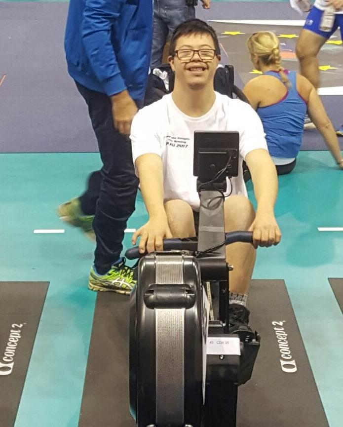 Gabriel Valente: un atleta con la vita piena