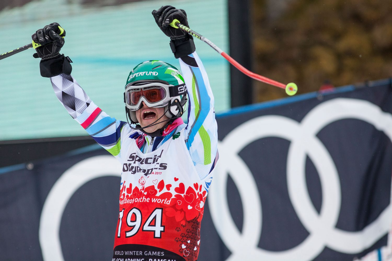 La gioia azzurra ai Giochi Mondiali in Austria