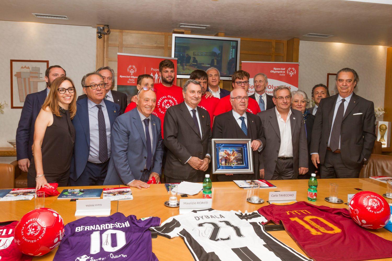 Tavecchio: Prendiamo Special Olympics come esempio