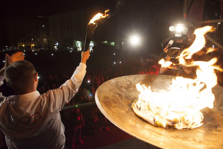La Cerimonia di Apertura a Terni per dare inizio ai Giochi Nazionali Estivi