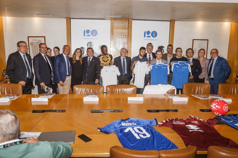 Presentata in FIGC la XVIII European Football Week