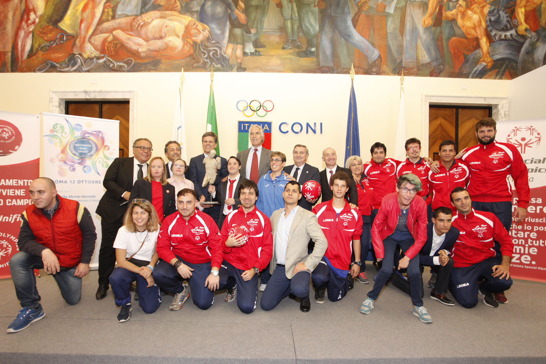 """Tim Shriver:""""Il Premio Mecenate dello Sport va a tutti gli atleti Special Olympics"""""""