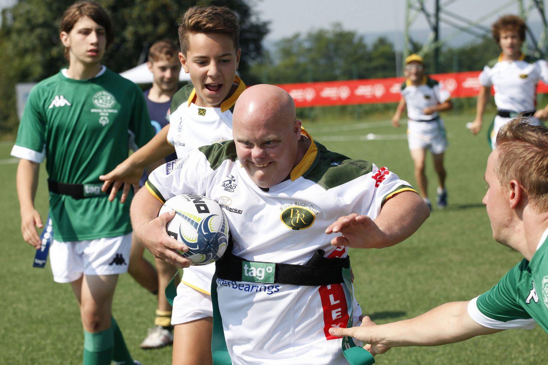 La Federazione Italiana Rugby  scende in campo con Special Olympics