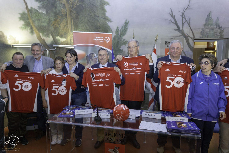 Presentati i Giochi Nazionali Estivi Special Olympics 2018 in Regione Toscana