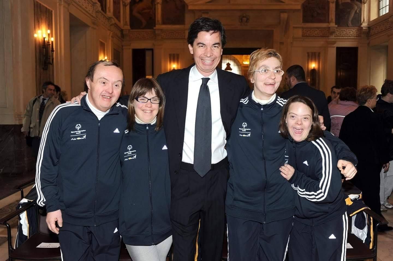 Angelo Moratti eletto Presidente di Special Olympics Italia