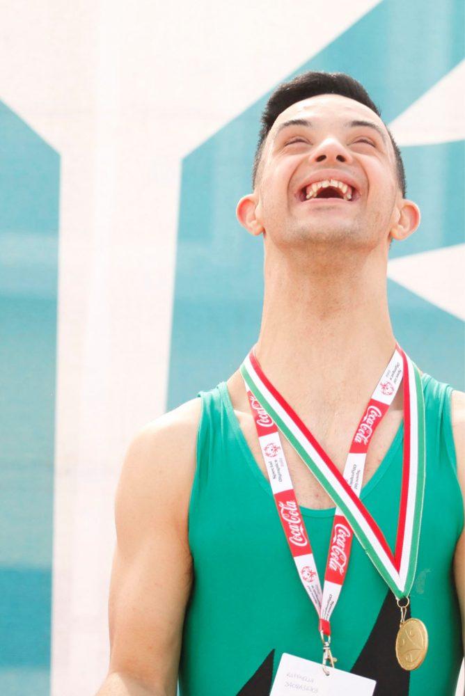 Lorenzo: una vita piena e felice anche grazie allo sport