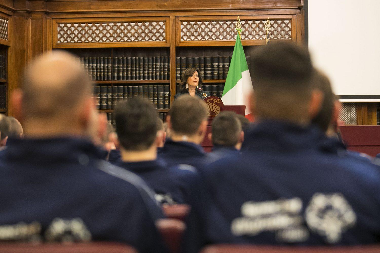 """La Presidente del Senato Casellati agli Azzurri Special Olympics: """"Fate vincere l'educazione su ogni esclusione"""""""