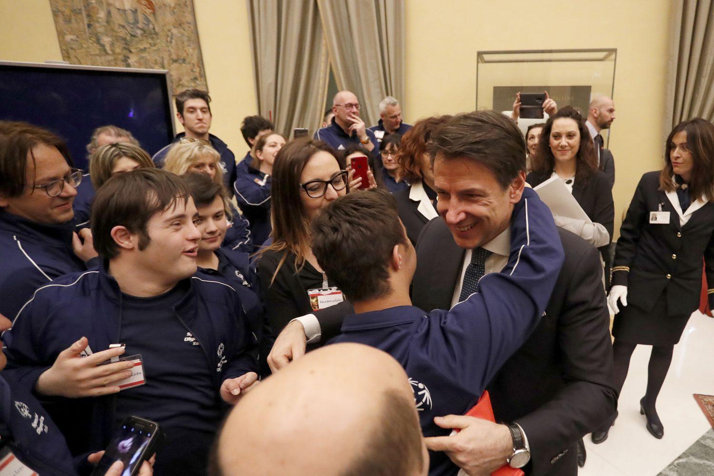 Giuseppe Conte: mi impegno affinchè il grande pubblico possa conoscere meglio Special Olympics