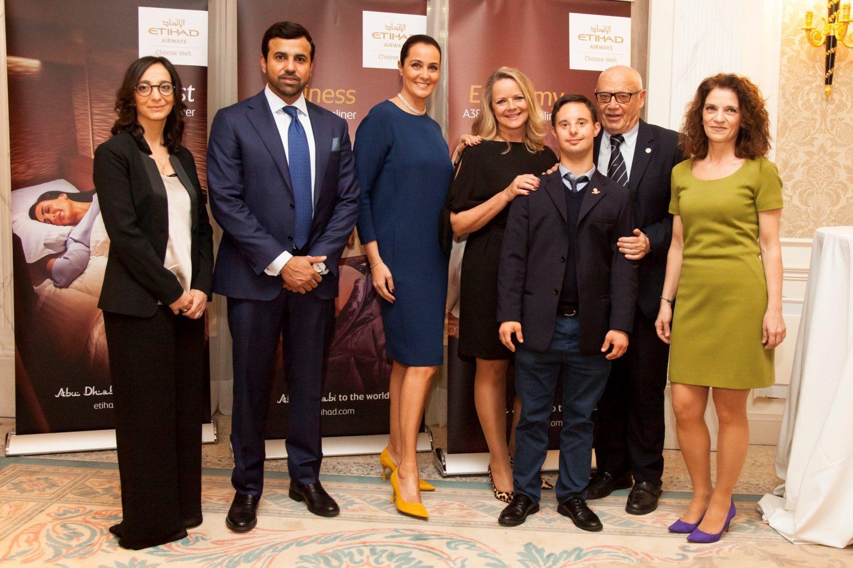 Etihad Airways celebra i Giochi Mondiali Special Olympics con una cena di Raccolta Fondi a Milano