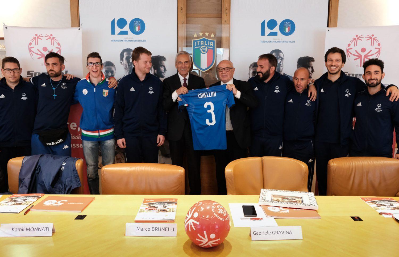 """Gabriele Gravina, Presidente della FIGC: """"Special Olympics rappresenta una bellissima copertina del nostro sport"""""""
