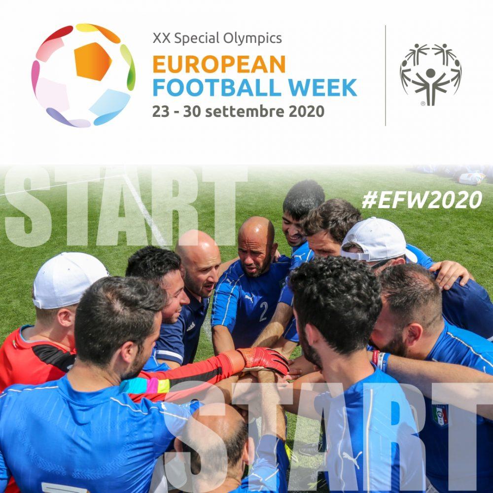 Al via la XX Special Olympics European Football Week: all'insegna dello Sport Unificato e dell'inclusione