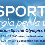 Una nuova sfida: La Convention Nazionale di Special Olympics Italia